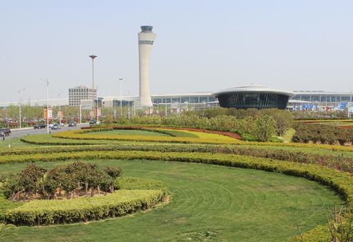 新郑国际机场配套绿化工程